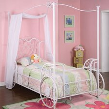 Princess Emily Vintage Carriage Twin Canopy Bed