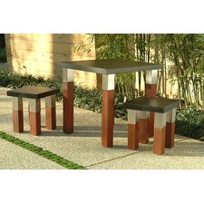 Kenji 3 Piece Dining Set