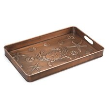Seashore Multi-Purpose Shoe Tray for Boots, Shoes, Plants, Pet Bowls, and More