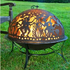 Full Moon Party Dome Fire Pit Set