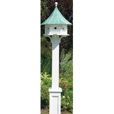 Lazy Hill Farm Hammersley Birdhouse Post