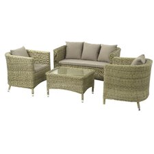 Sahara 4 Seater Sofa Set with Cushions