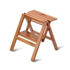 2-Step Beech Wood Step Stool