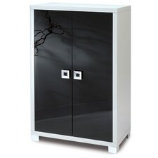 Quadrante 2 Door Storage Cabinet