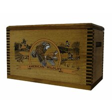 """Wooden Accessory Box With """"Wildlife Series"""" Quail Print"""