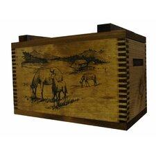 Standard Storage Box with Horse Print