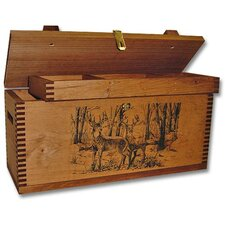 Deluxe Field Case with Two Bucks Print