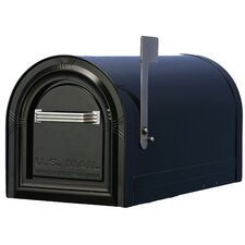 Post Mounted Mailbox with Lock