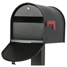 Post Mounted Mailbox