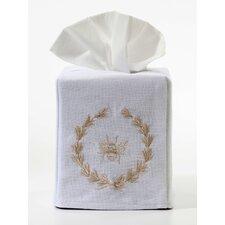 Bee Wreath Tissue Box Cover