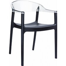 Carmen Stacking Dining Arm Chair (Set of 4)