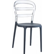 Miss Bibi Stacking Dining Side Chair (Set of 2)