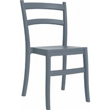 Tiffany Stacking Dining Side Chair (Set of 2)