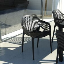 Air Stacking Dining Arm Chair (Set of 2)