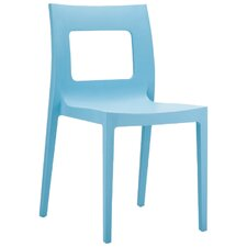 La Plaza Lucca Stacking Dining Side Chair (Set of 2)