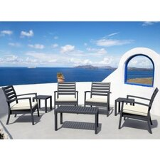 Artemis 7 Piece Arm Chair Seating Group