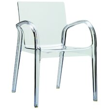 Dejavu Stacking Dining Arm Chair (Set of 4)