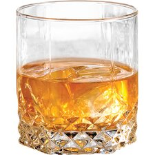 Rock 11 Oz. Double Old Fashioned Glass (Set of 6)