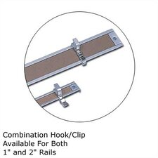 .5Map Rail Accessories - Combination Hook/Clip (Set of 9)