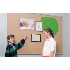 Wall Mounted Plascork Bulletin Board