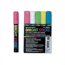 Fluorescent Markers (Set of 5)