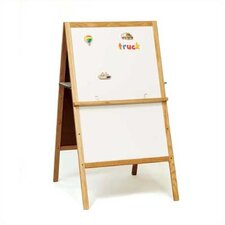 Children's Easels - Teacher's Helper Easel Magnetic Free-Standing Whiteboard, 4' H x 2' W