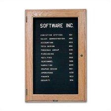 Enclosed Bulletin Board