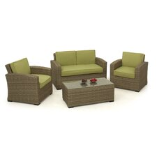 Milan 4 Seater Sofa Set with Cushions