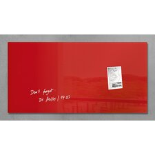 Sigel Magnetic Glass Memo Board