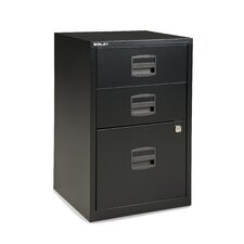 3-Drawer Steel Home or Office Filing Cabinet