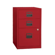 3 Drawer Steel Home or Office Filing Cabinet