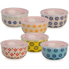 12-Piece Food Storage Container Set