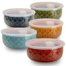 10-Piece Storage Bowl Set (Set of 5)