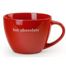 "Coffee Break 18 oz. Jumbo ""Hot Chocolate"" Mug (Set of 4)"