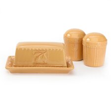 Sorrento 3 Piece Salt And Pepper Set
