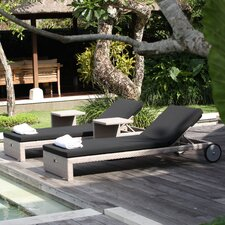 Miami Breeze Lounger with Cushion