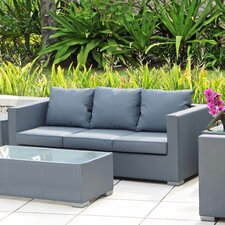 Ibiza 3 Seater Sofa with Cushion