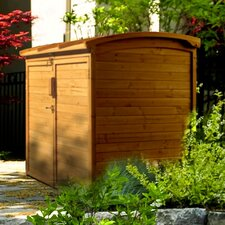 5 Ft. W x 3 Ft. D Wooden Storage Shed