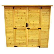 6.5 Ft. W x 3 Ft. D Wood Lean To Storage Shed