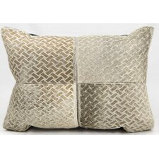 Basket Print Lumbar Pillow