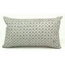 French Knot Flowers Lumbar Pillow