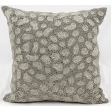 Beaded Stones Throw Pillow