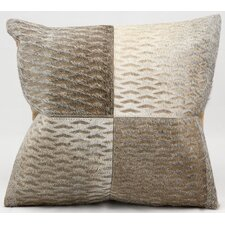 Laser Cut Hide Throw Pillow