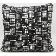Ribbing Jacquard Throw Pillow