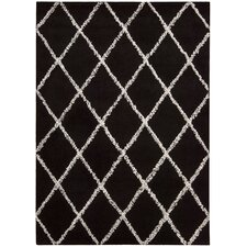 Monterey Black / White Rug