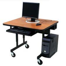Classic Flip Top Workstation Computer Desk