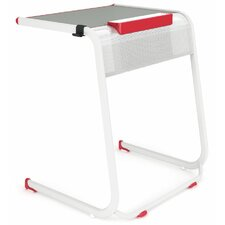 """A&D Laminate 28"""" Student Desk with Tablet/Book Kickstand"""