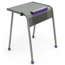 """A&D Laminate 30"""" Student Desk with Tablet/Book Kickstand"""