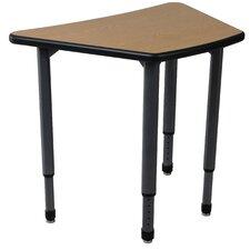 Laminate Adjustable Height Standard Desk