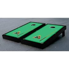 Billiards Table Pool Themed Cornhole Game Set